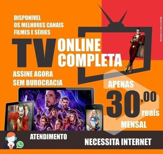 Tv P2p Canais Online - Sem Travas Anual