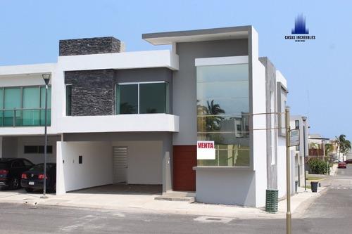 Hermosa Casa En Riviera Veracruzana, Con Alberca