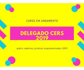Curso Delegado Cers 2019