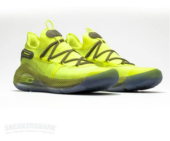 Under Armour Curry 6 Coy Fish All Star Sneakershark