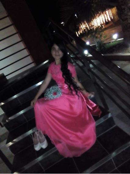 Vestido De Fiesta, Talla Ch