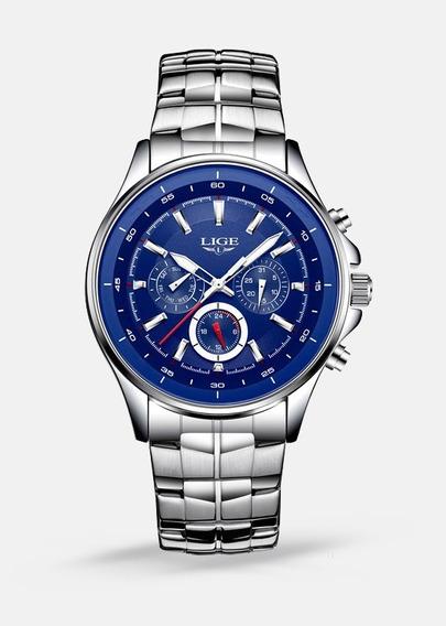 Relógio Masculino Lige 9814 Quartzo