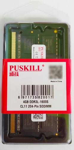 Imagen 1 de 1 de Memoria Ram Para Laptop Ddr3l 1600 Mhz Pc3l-1600 4gb Nueva
