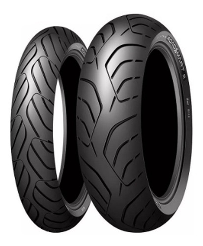 Cubierta Dunlop Road Smart 3 120 70 18 Tdm 900 En Mg Bikes