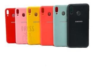 Funda Samsung Galaxy M20 Silicone Case Anti Golpes