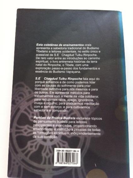 Livro Portões Da Prática Budista