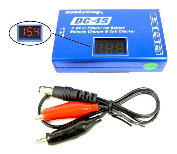 Dc4s Carregador Balanceador Digital P/ Bater. Lipo E Li-ion