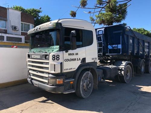 Scania P340 2008 Inmaculado Trabajando Listo Para Transferir