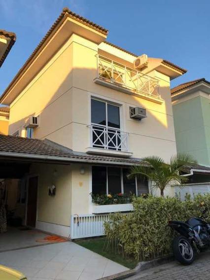 Casa Em Condomínio-à Venda-recreio Dos Bandeirantes-rio De Janeiro - Brcn20110