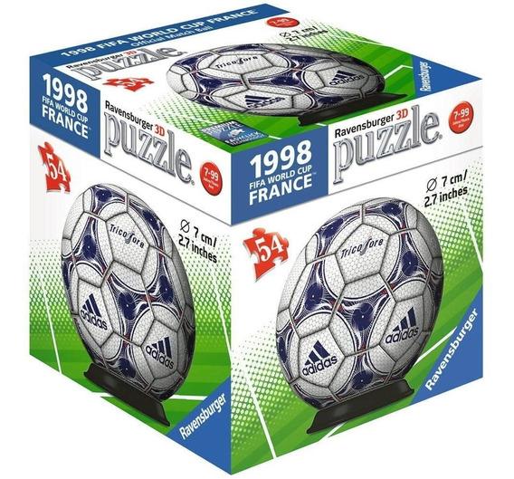 Rompecabezas 3d Balón adidas Francia 98 Ravensburger