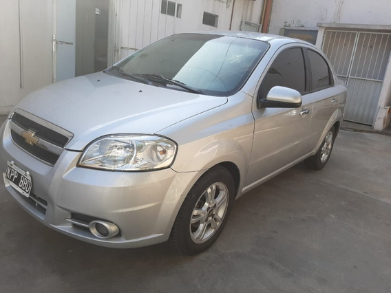 Chevrolet Aveo 1.6 Lt At G3 Plata