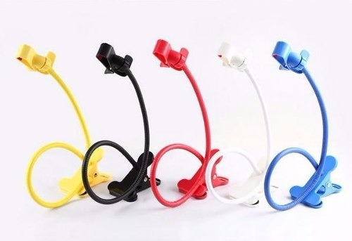 Suporte Universal Com Haste Flexivel Para Smarthphone E Gps