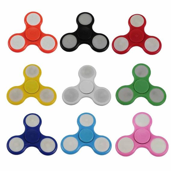 Fidget Hand Spinner Toy C/ Led (9 Unidades) - Fingertoy