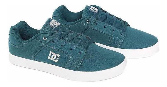 Dc Shoes Tenis Method Tx Green Indigo Original Quiksilver