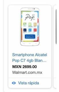 Celular Alcatel Onetouch Pop C7+