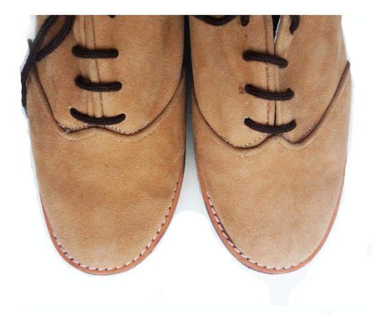 Sneakers Gamuza Plataforma Platino