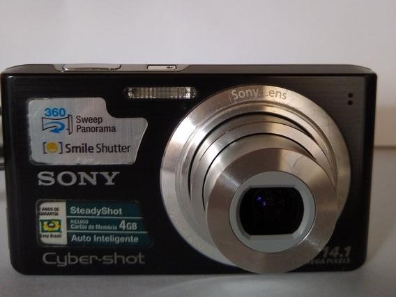 Câmera Digital Usada Sony Cybershot 14.1 Steadyshot Dsc-w610
