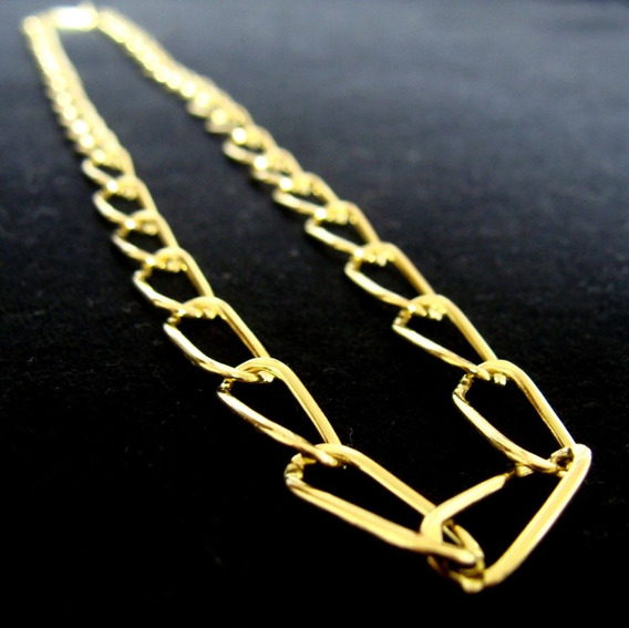 Corrente De Ouro 18k Com 60cm - 18 Grs - Frete Grátis