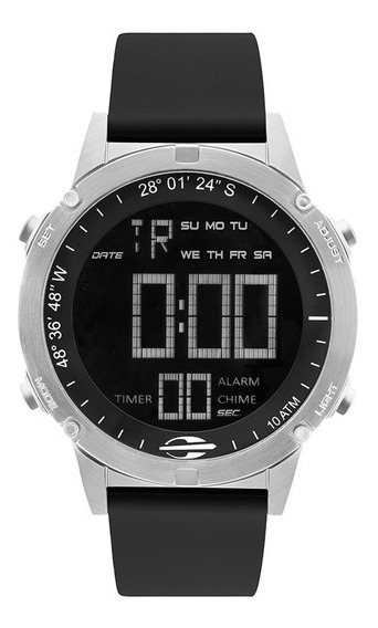 Relógio Mormaii Masculino Slim Mow13901d/2p Prata Negativo