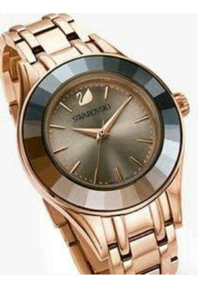 Relógio Swarovski Alegria Dourado Novo, Certificado, Novo.