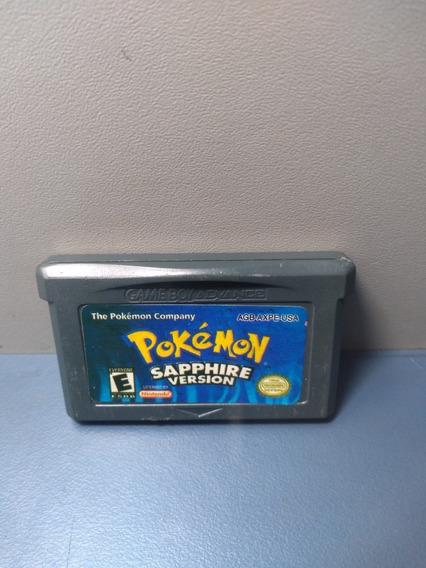 Pokemon Sapphire- Jogo Para Gameboy - Rf54