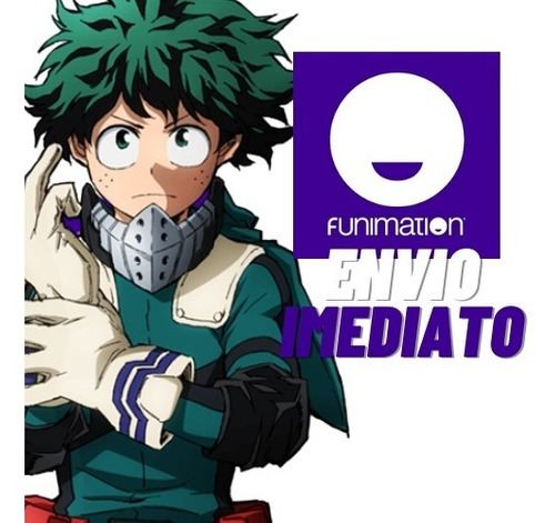 Funimation 12 Meses - Envio Imediato