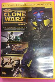 Clone Wars Episodio 4 Dvd Original