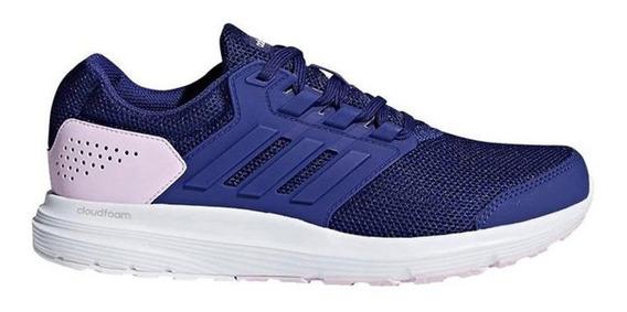 Zapatillas adidas Galaxy 4 Mujer Azul - Corner Deportes