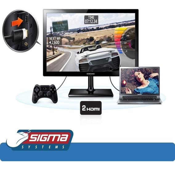 Monitor Tv Samsung Hdtv 21.5 Led T22c301lb Nuevo
