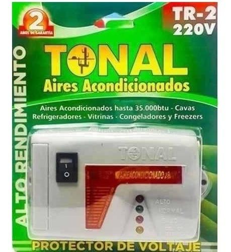 Protector De Voltaje Aires Acondicionados 220v Cava Tr-2