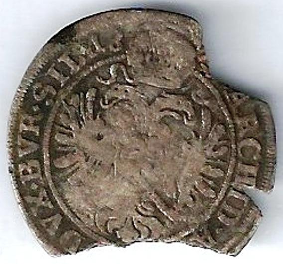 Austria 1657 1705 3 Kreuzer Moneda Antigua De Plata Xxz087