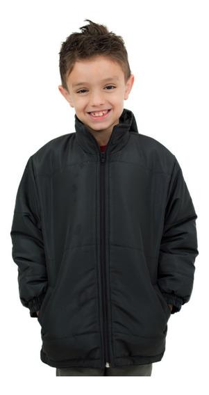 Jaqueta Juvenil Com Capuz E Manta Térmica Interna - Inverno