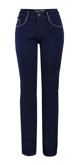 Jeans Vaquero Wrangler Mujer Cintura Alta U11