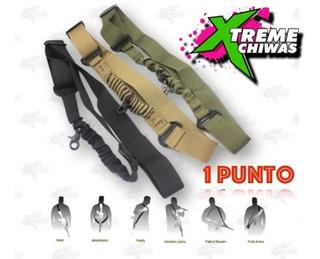 Porta Fusil Correa Tactica Rifle Riel Airsoft 1 Punto Xtreme