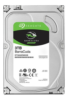 Disco Duro Seagate Barracuda 3tb 3.5 7200r Por Onlinestoretj