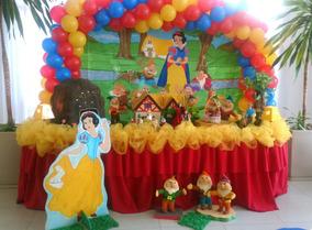 Decoração De Festa Infantil Branca De Neve Aluguel