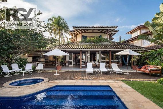 Casa Com 6 Dormitórios À Venda, 728 M² Por R$ 16.000.000 - Praia De Camburí - São Sebastião/sp - Ca0645