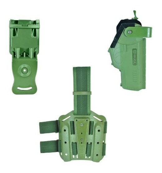 Kit Coldre Bélica Em Polímero - Verde Canhoto