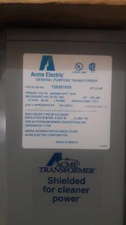 Transformador Acme, Modelo T25351638 10kva