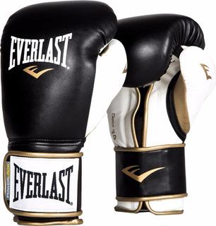 Guantes Box Everlast Powerlock 14 16 Onzas Kickboxing Combate Sparring Baires Deportes Local En Oeste G B A