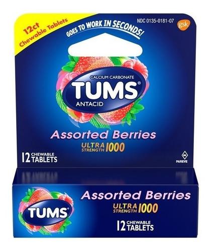 Acidez Indigestión Tabletas Tums- - Unidad a $1658