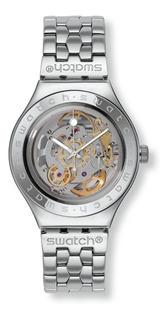 Reloj Swatch Yas100g Automático Acero 100%original Garantía
