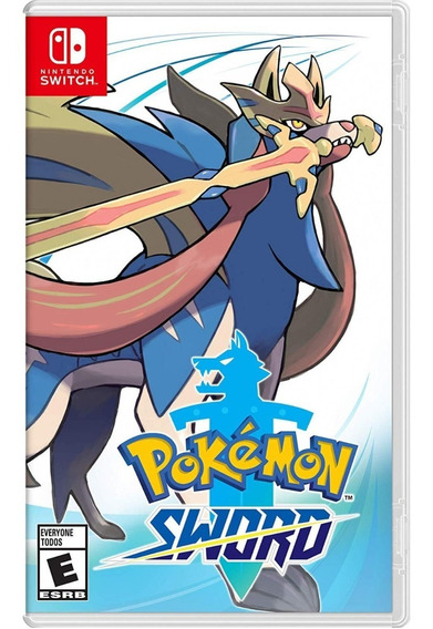 Pokemon Sword Nintendo Switch Midia Fisica