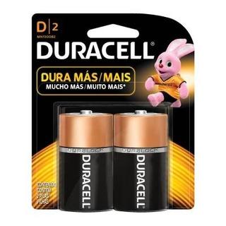 Pilas Alcalinas Duracell D2 - Audiomobile