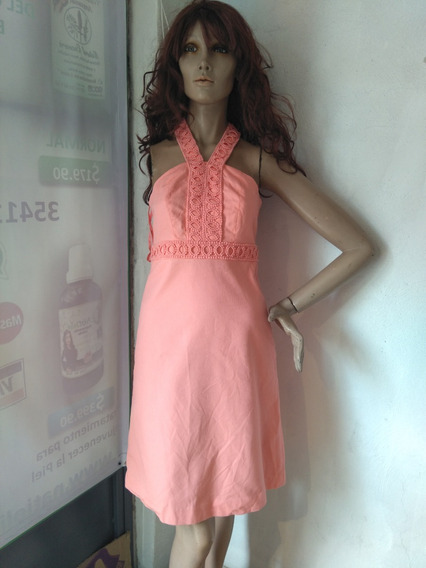 Vestido Casual Color Coral
