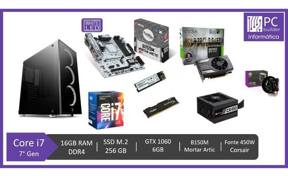 Pc Gamer - I7 7700/16gb Ddr4/ssd M.2 240gb/gtx 1060 6gb
