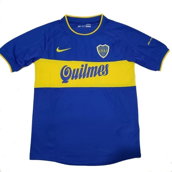 Camiseta De Boca Juniors Titular Oficial 2000 #10