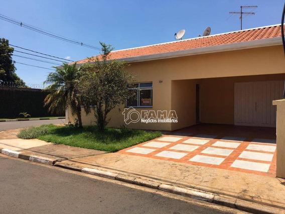 Casa Com 3 Dormitórios À Venda, 198 M² Por R$ 600.000 - Condomínio Chácara Por Do Sol - Paulínia/sp - Ca2081