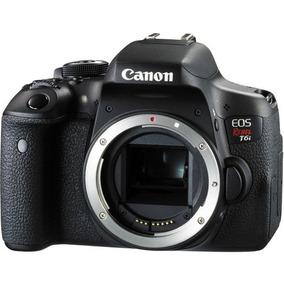 Câmera Canon Dslr Eos Rebel T6i (apenas Corpo) 24.2mp Nova