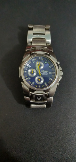 Relógio Nixon The Super Rover Ss Full Metal - Prata/azul